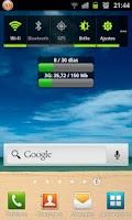 Screenshot of Consumo Datos Internet PRO