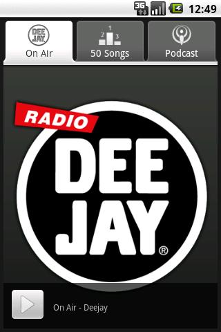 Radio Deejay - screenshot