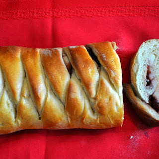 Braided Strawberry Cheese Bread