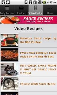 Sauce Recipes!- screenshot thumbnail