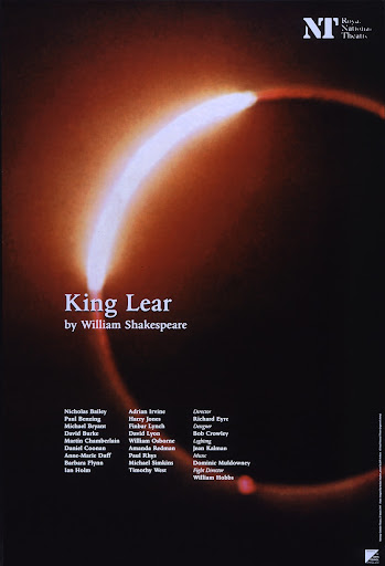 king lear thesis blindness King lear's downfalls are his pride, selfishness, and blindness to truth pride as one of lear's first downfalls, in the beginning lear disowns his lovely daughter cordelia, because lear is to blind to realize that cordelia loves her father for who he is.