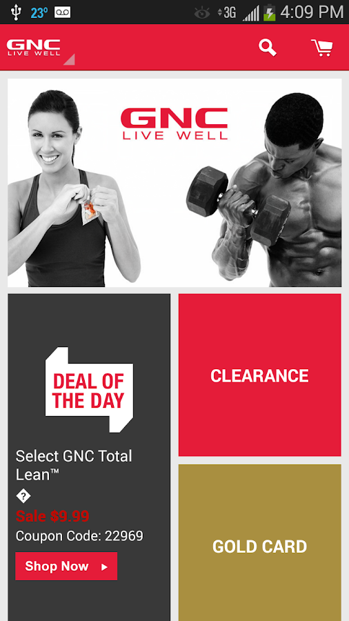 GNC - screenshot