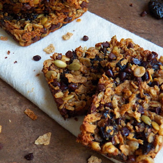 Plum Sweet Chewy Cereal Bars