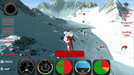 X Helicopter Flight 3D - screenshot thumbnail