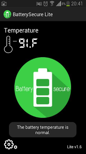 Battery Secure LITE