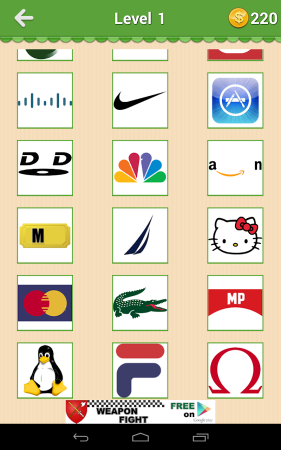 Guess The Brand - Logo Mania- screenshot