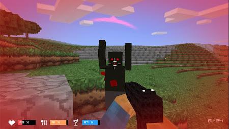 Cube Gun 3D : Zombie Island 1.0 screenshot 44157