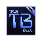 TrueBlue Apex/ADW/Nova icon