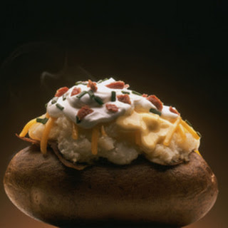 Stuffed Baked Potatoes With Vegetables Recipes.