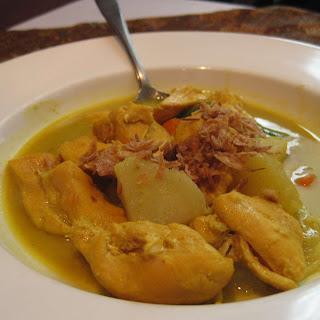 Kare Ayam (Chicken Curry).