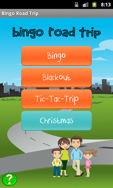 Bingo Road Trip - screenshot