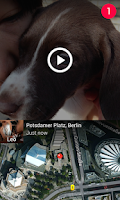 Screenshot of Taptalk: Photo&Video Messaging
