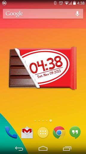 Kit Kat Clock - Zooper Widget