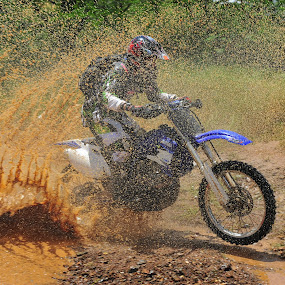 Enduro by Charel Schreuder - Sports & Fitness Motorsports ( event, racing, motorcycle, motorcyclist, enduro, race )
