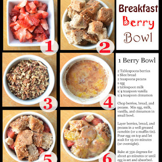 Berry Breakfast Bowls- Mini French Toast Casseroles