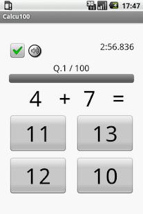Calcu100- screenshot thumbnail