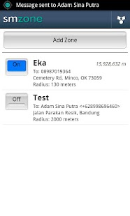 Auto Sms By Zone (LITE)- screenshot thumbnail