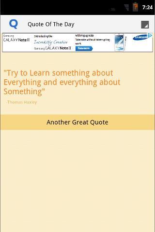 【免費書籍App】Quote of The Day App-APP點子