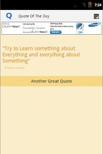 Quote of The Day App - screenshot thumbnail