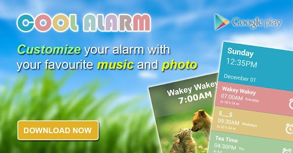 Cool Alarm Clock- screenshot thumbnail
