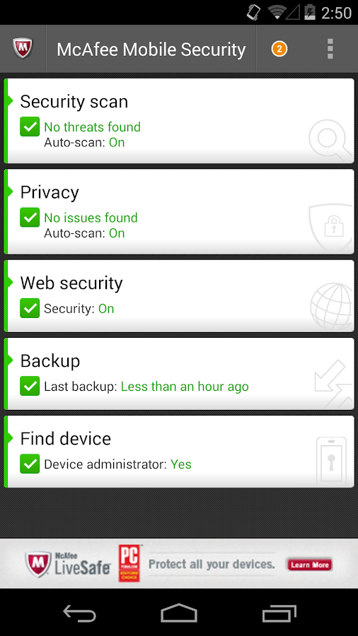 Free Antivirus & Security - screenshot