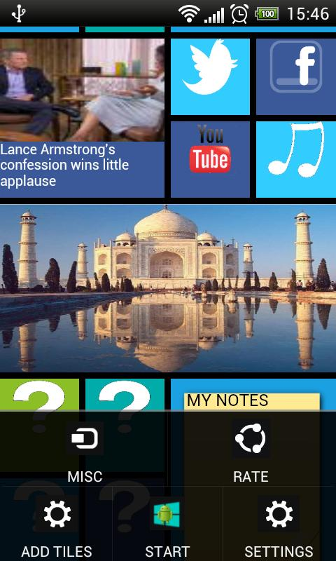 Windows8 / Windows 8 Launcher - screenshot
