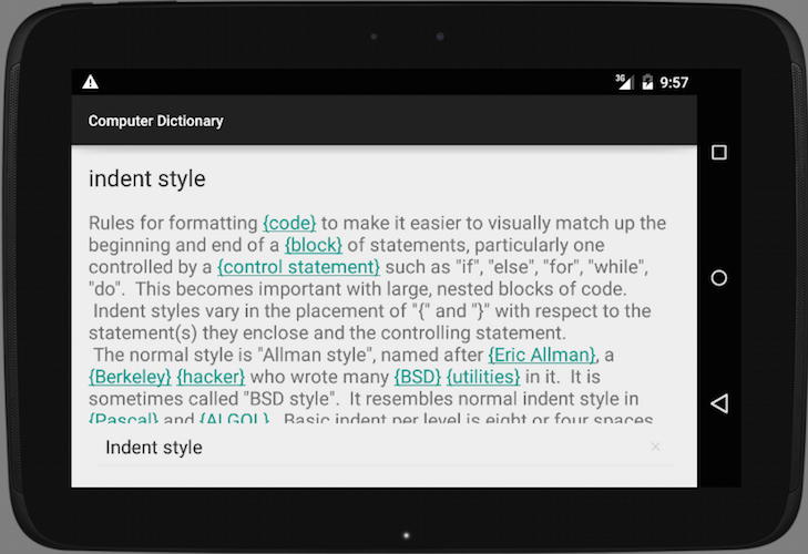 computer dictionary   android apps on google play
