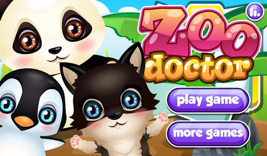 Zoo Animals Doctor Day 休閒 App-癮科技App