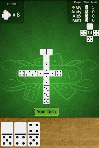 Dominoes Deluxe Free Screenshot