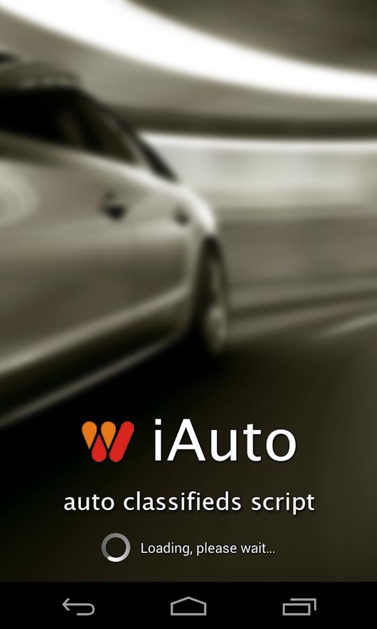 iAuto Car Dealers Demo Script - screenshot
