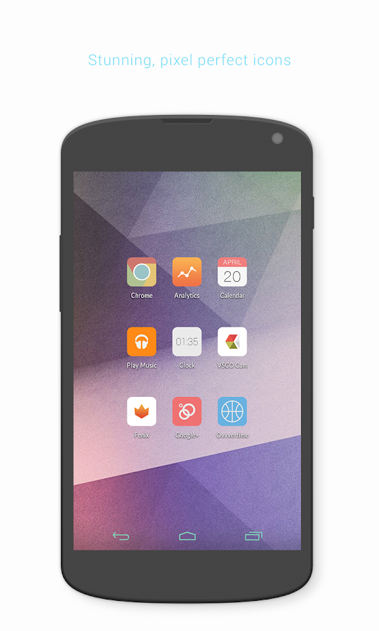 Éternel Icon Pack- screenshot