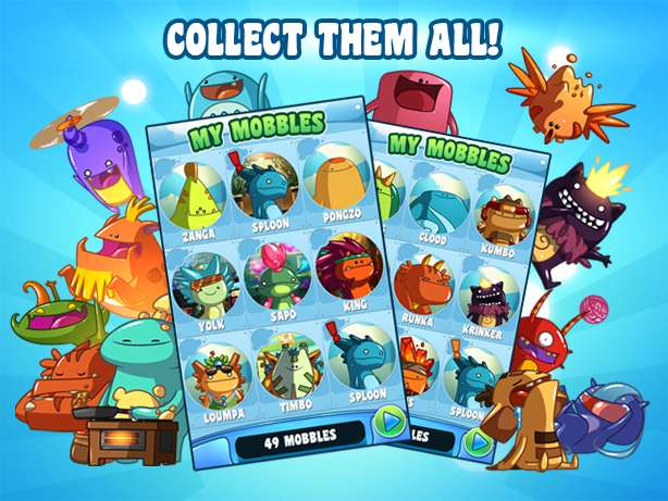 Mobbles - the mobile monsters! - screenshot