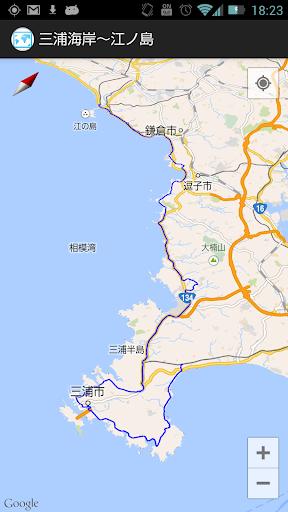 三浦海岸〜江ノ島 運動 App-癮科技App