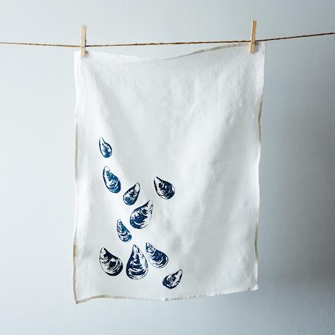 Mussels Tea Towel (Set of 2)