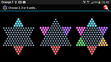 Screenshot of Chinese Checkers - HD/Tablet