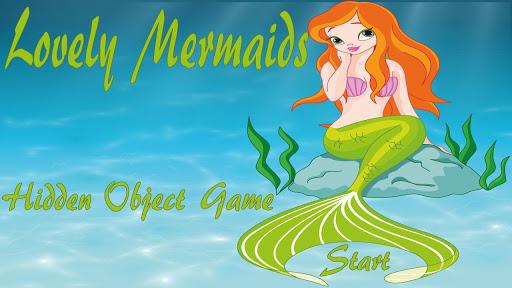 Lovely Mermaids Hidden Objects