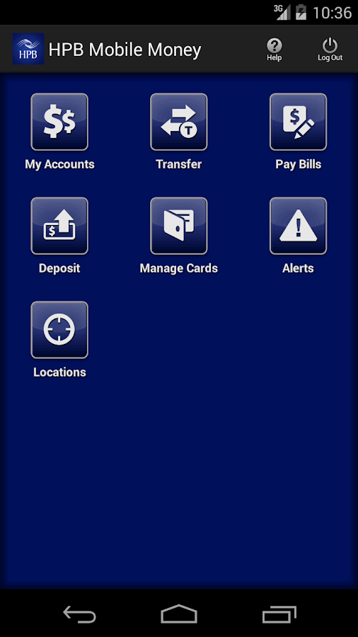 HPB Mobile Money - screenshot