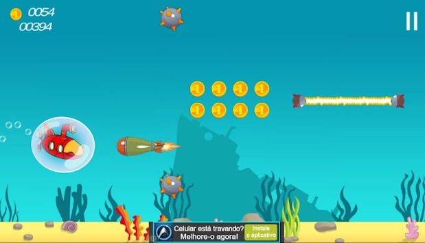 submarine booble apk screenshot