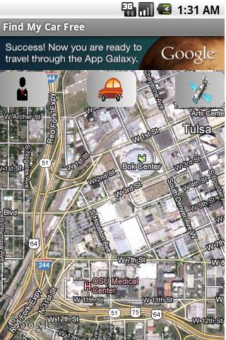 Find My Car Free - screenshot
