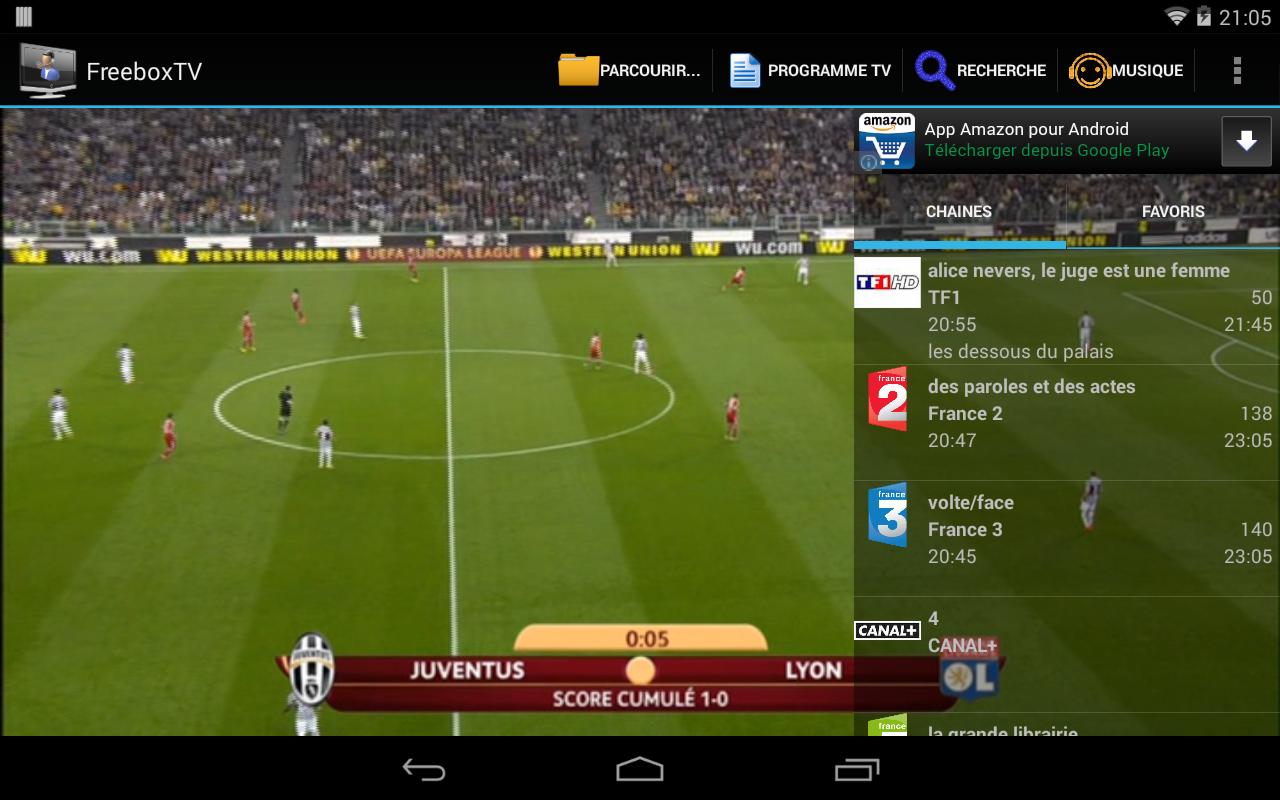 Freebox TV - screenshot