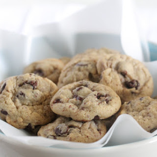 Healthier Mini Chocolate Chip Cookies