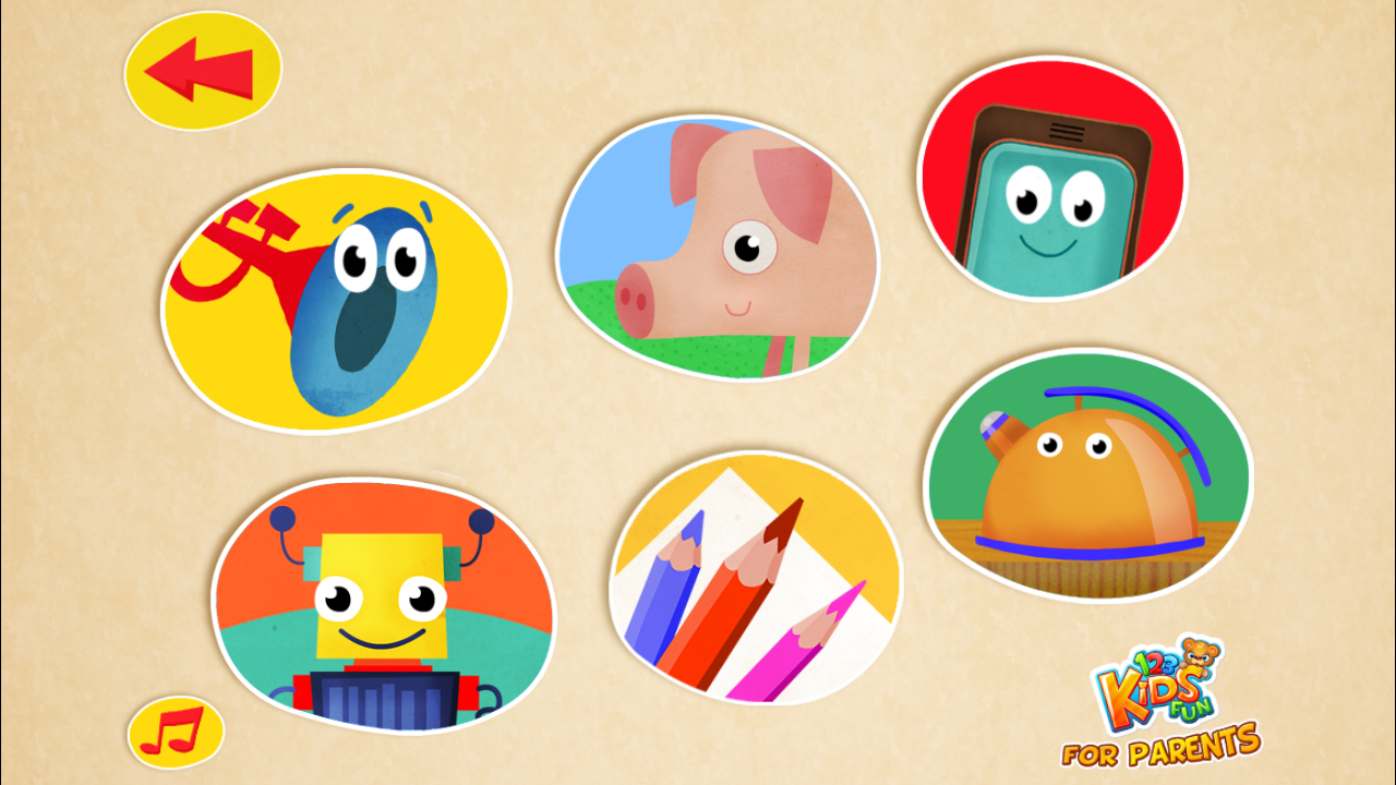 123 Kids Fun BABY TUNES - Educational Music Games- screenshot