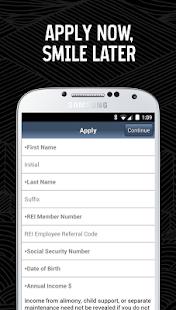 REI Credit Card - screenshot thumbnail