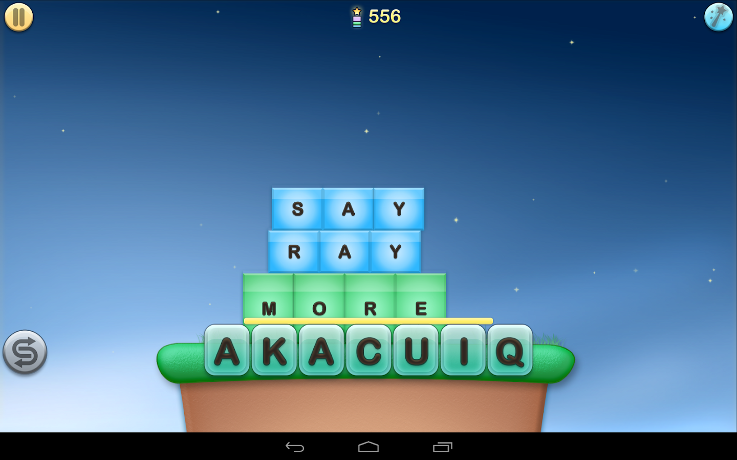 Jumbline 2 - word game puzzle - screenshot