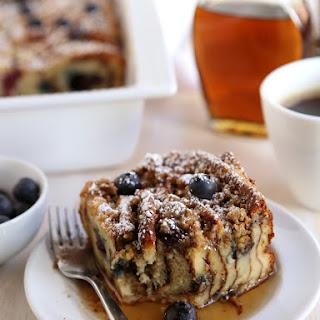 Blueberry Pancake Bake