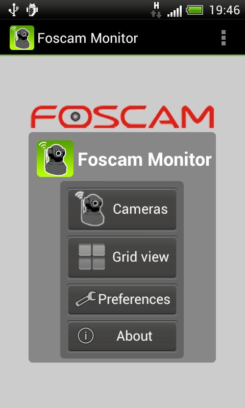 Foscam Monitor DEMO 3rd party - screenshot
