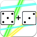 Addition of dice icon
