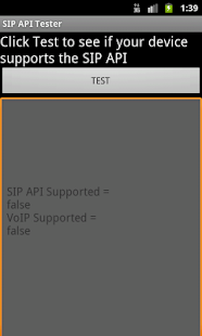 SIP API Tester - screenshot thumbnail
