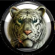 Poweramp skin white tiger icon