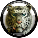 Poweramp Haut weiße tiger icon